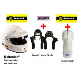 Pack Casco integral + Hans + Sotocasco