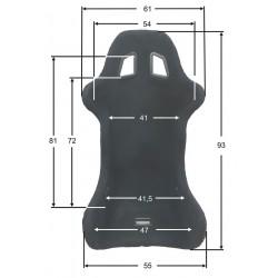 Baquet Beltenick RST 800 OFFROAD